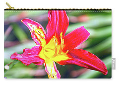 Red And Yellow Orchid Carry-all Pouch
