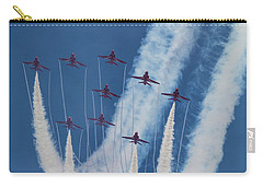 Red Arrows At Duxford Carry-all Pouch