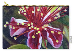 Pineapple Guava Flower Carry-all Pouch