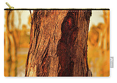 Red Bark Carry-all Pouch by Douglas Barnard