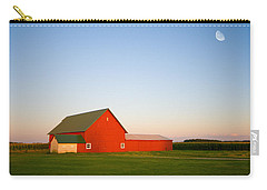 Red Barn And The Moon Carry-all Pouch