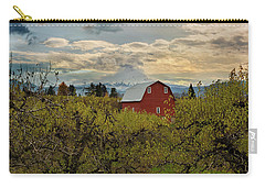 Red Barn At Pear Orchard Carry-all Pouch