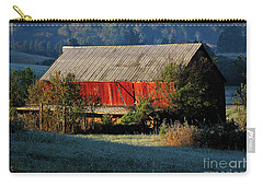 Red Barn Carry-all Pouch by Douglas Stucky