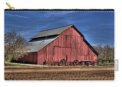 Carry-all Pouch featuring the photograph Red Barn by Jim and Emily Bush