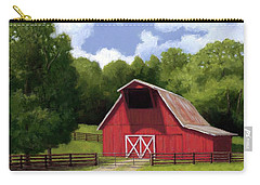 Red Barn In Franklin Tn Carry-all Pouch