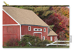 Red Barn Carry-all Pouch by Jim Gillen