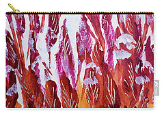 Red Beauties In The Garden Carry-all Pouch