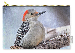 Red-bellied Woodpecker Carry-all Pouch by Patti Deters