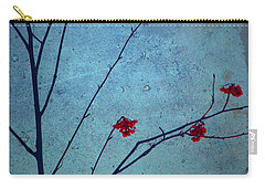 Red Berries Blue Sky Carry-all Pouch
