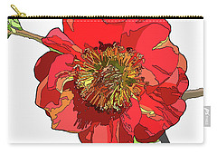 Red Blossom Carry-all Pouch