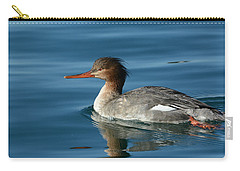 Red Breasted Beauty Carry-all Pouch by Fraida Gutovich