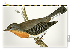 Red Breasted Flycatcher Carry-all Pouch