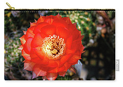 Red Cactus Bloom Carry-all Pouch