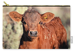 Red Calf Carry-all Pouch