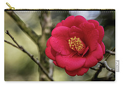Red Camelia 05 Carry-all Pouch by Gregory Daley  PPSA