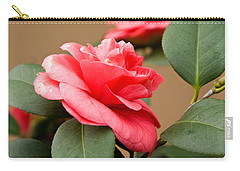 Red Camelliafresno Ca Carry-all Pouch