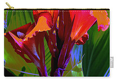 Red Canna Fire Carry-all Pouch