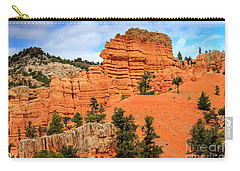 Red Canyon Area In Utah Carry-all Pouch