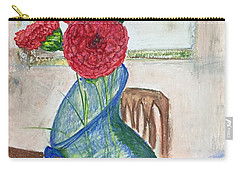 Red Carnations Carry-all Pouch