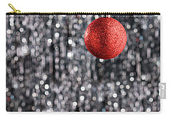 Carry-all Pouch featuring the photograph Red Christmas  by Ulrich Schade
