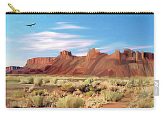 Red Cliff Eagle Carry-all Pouch