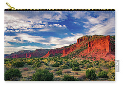 Red Cliffs Of Caprock Canyon 2 Carry-all Pouch