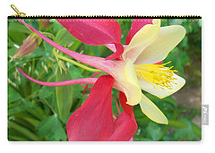 Red Columbine Agape Gardens Carry-all Pouch