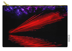 Red Comet Carry-all Pouch by Naomi Burgess
