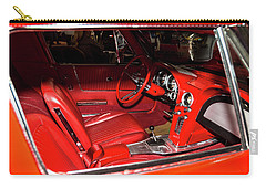 Red Corvette Stingray Carry-all Pouch