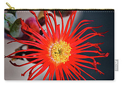 Red Crab Flower Carry-all Pouch