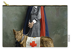 Carry-all Pouch featuring the photograph Red Cross Nurse by Granger