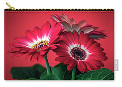 Red Daisies #5 Carry-all Pouch