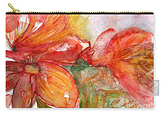 Red Dance Carry-all Pouch by Jasna Dragun