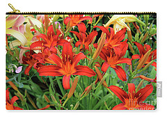 Red Daylilies Carry-all Pouch