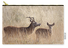 Red Deer Stag And Hind Carry-all Pouch