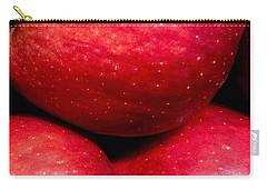 Red Delicious Carry-all Pouch by Russell Keating