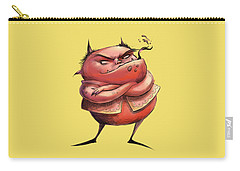 Red Devil Carry-all Pouch by Andy Catling