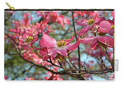 Red Dogwood Flowers Carry-all Pouch