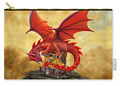 Red Dragon's Treasure Chest Carry-all Pouch