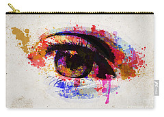 Red Eye Watercolor Carry-all Pouch