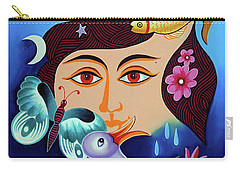 Red-- Eyed Carry-all Pouch