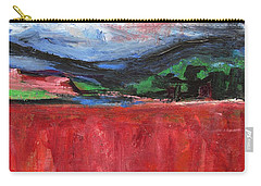 Red Field Landscape Carry-all Pouch