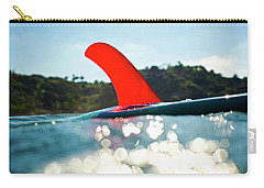 Carry-all Pouch featuring the photograph Red Fin by Nik West