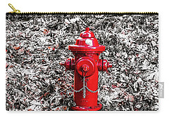 Red Fire Hydrant Carry-all Pouch