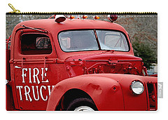 Red Fire Truck Carry-all Pouch