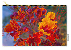 Red Flower 1 Carry-all Pouch by James Gay