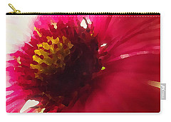 Red Flower Abstract Carry-all Pouch