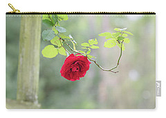 Red Flower Garden Carry-all Pouch