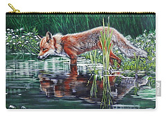 Red Fox Reflecting Carry-all Pouch