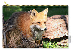 Red Fox On Patrol Carry-all Pouch